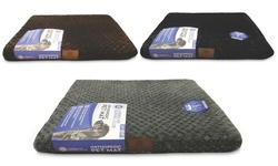 American Kennel Club Orthopedic Pet Mat - Gray/Scalloped - Size: Small