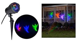 "LightShow 72734 11.81"" Whirl-a-Motion-Ghost OGPB Stake Light for Halloween"
