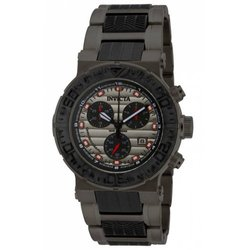 Invicta Men's 16865 Ocean Reef Quartz Chronograph Black, Grey Dial Watch