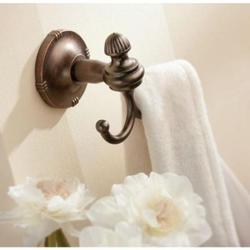 MOEN Gilcrest Double Robe Hook - Oil Rubbed Bronze