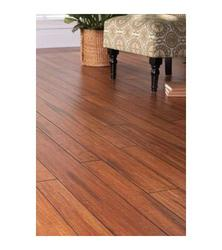 Strand Woven Distressed Dark Honey Bamboo Flooring - (HD13004A)