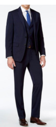 Mario Rossi Men's Slim Suits - Navy - 42RX36R