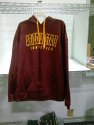 Men's NCAA Arizona State Sundevils Hooded Sweatshirt - Red - Size: L