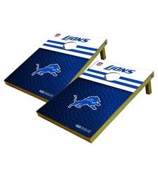 """NFL Detroit Lions 2 x 3 Toss Platinum Tailgate Set - 24 x 36"""""""