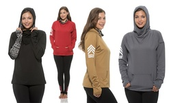 Womens Pullover Hoodie: 2x