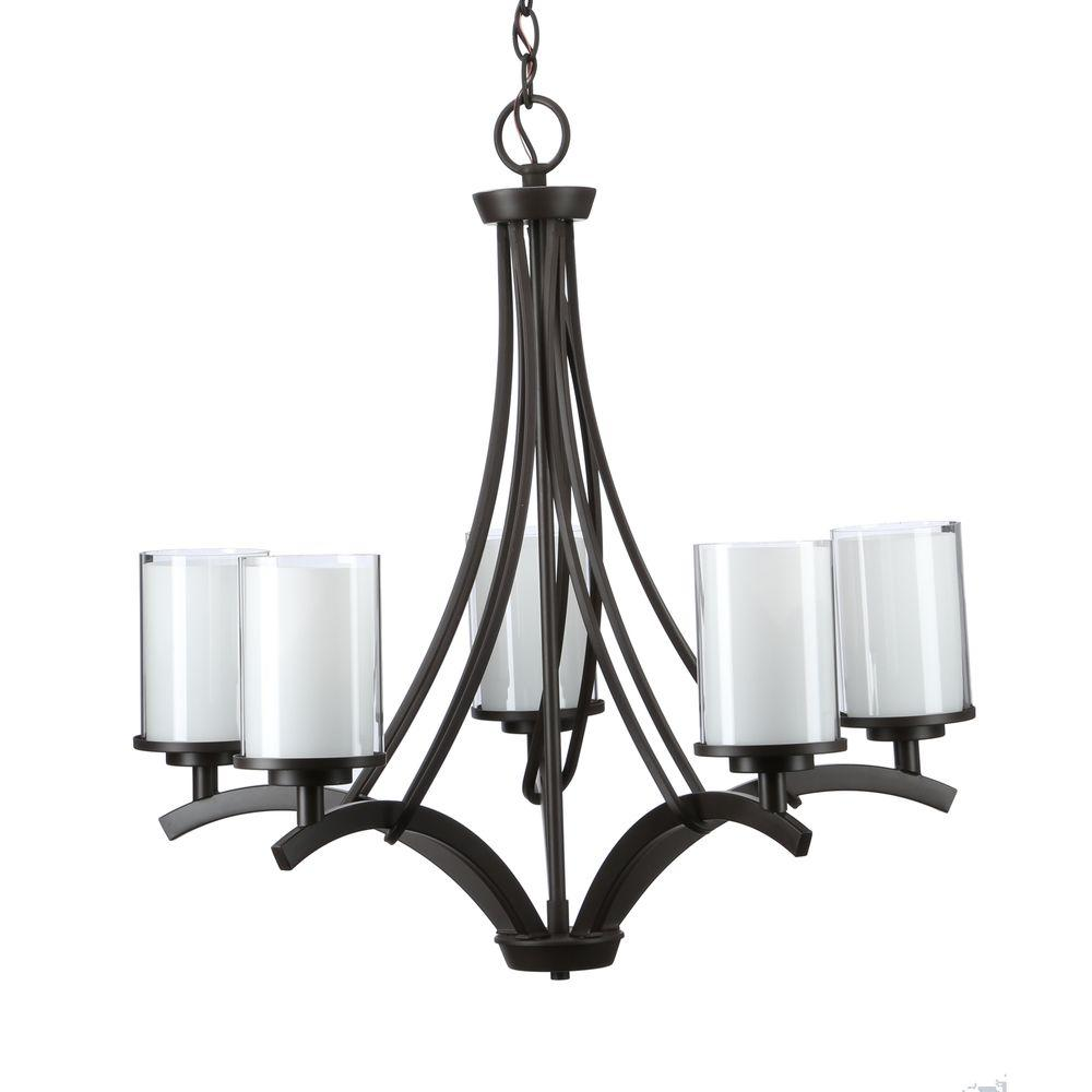 Hampton bay 5 light ceiling chandelier oil rubbed bronze 89542 hampton bay 5 light ceiling chandelier oil rubbed bronze 89542 aloadofball Choice Image