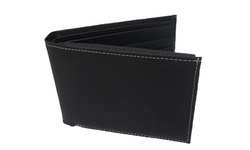 E M P Men's Leather Boxed Wallet - Black