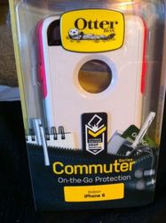 Otterbox Commuter Series Case for Apple Iphone 6 - Neon Rose