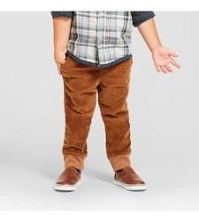 Oshkosh Toddler Boy's Fashion Pant - Breadcrust Brown - Size: 12M