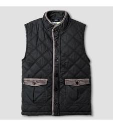 OshKosh Toddler Boy's Fashion Vest - Charcoal Leaf - Size: Small