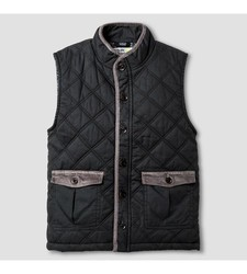 OshKosh Toddler Boy's Fashion Vest - Charcoal Leaf - Size: 6T