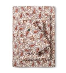 Bedeck Ila Bedsheet Set - Magenta Paisley - Size: Full
