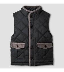 OshKosh Baby Boy's Fashion Vest - Charcoal Leaf - 5T