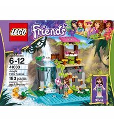 LEGO Friends Jungle Falls Rescue Building Set