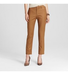 Merona Women's Classic Ankle Pant - Tan - Size: 16