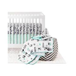 Oh Joy 4 Pc Print Crib Bedding Set - Multi - Size: One Size