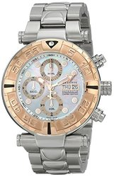 Invicta Men's 13040 Subaqua Analog Display Swiss Automatic Silver Watch