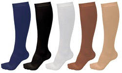 Anti Fatigue Unisex Graduated Compression Support Socks Pack of 5