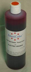 Americolor Electric Orange Soft Gel Paste 13.5 Ounces
