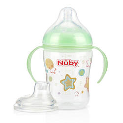 Natural Touch 3 Stage Natural Nurser Cup  - Green Stars