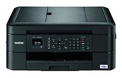 Brother Color Inkjet All-in-One Printer - Black (MFCJ480DW)