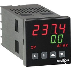 Red Lion T48 1/16 DIN Logic/SSR Temperature Controller with Solid State Output and 2 Alarms/User Input, 85-250 VAC by Red Lion