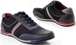 Henry Ferrera Zhi100 Lace-up Sneakers: Navy/11