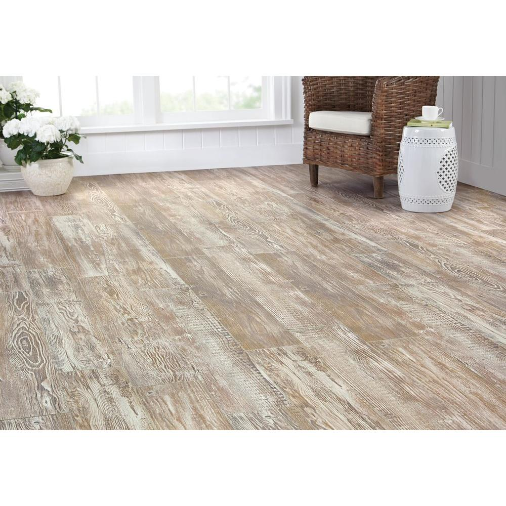 Denali pine 8 mm t x 7 2 3 w x 50 5 8 l laminate Home decorators collection flooring installation