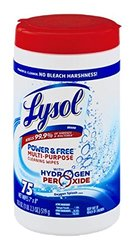 Lysol Power & Free Multi-Purpose Cleaning Wipes Oxygen Splash Scent