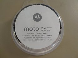 Motorola Moto360 Metal Watch Band - 23mm Dark Metal [Band Only]
