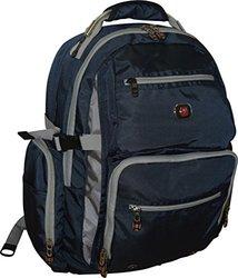 SwissGear Breaker Laptop Backpack - Gray / Dark Navy