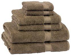 Cambridge Towel 6-Piece Grand Egyptian Bath Towel Set - Earth