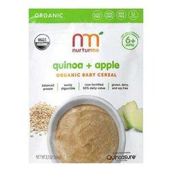 Nurturme Organic Baby Cereal Quinoa & Apple 3.7 OZ, 6CT