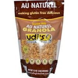 Udi's Gluten Free Granola Au Natural (340 g) 12 oz, caramelized