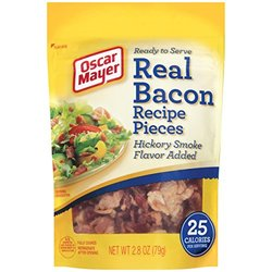 Real Bacon Recipe Pouches (Pack of 2.8-ounce, 12