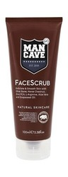ManCave Face Scrub with Natural Actives & 12 Essential Oils - 3.38Oz