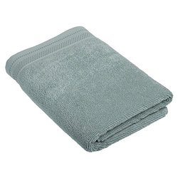 Crowning Touch by Welspun ECCT-TW-BT-01 Cotton Bath Towel, 30 by 58-Inch, Aqua Blue
