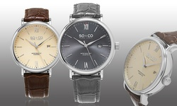 So & Co New York Men's Classic Dress Watch Collection: Gp16096 Gray