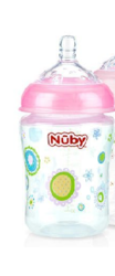 Natural Touch 3 Stage Natural Nurser Cup - Pink Flower