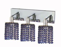 Elegant Lighting 1283W-O-R Mini 15 Inch Bath Vanity Light