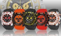 Stuhrling Original Men's Swiss Super Sport Watch Collection: Gp12271