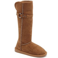 Serene Spencer Boots: Chestnut/size 9