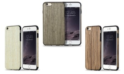 Rock Hybrid Slim Natural Wooden Bamboo Hard Case for Iphone 6 - White
