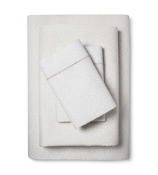 Fable Romilly Sheet Set - Ivory/Cream - Size: Queen