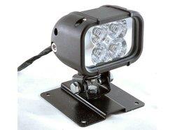 Larson 4 LED Light with Permanent Mount Plate 12 Watts - Black