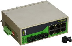 InHand Networks Unmanaged Industrial Ethernet Switch with 6-Prt Sc Connctr