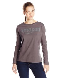 Amazon Gear Women's Long Sleeve T-Shirt - Charcoal Hether - Size: Small