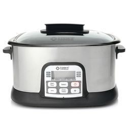 Cook's Companion 6.5 QT 11 in 1 Digital Multi Cooker - Stainless Steel