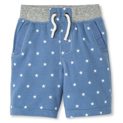 Genuine Kids Toddler Boys' Lounge Shorts - Brave Blue - Size: 3T