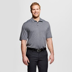 C9 Champion Men's Activewear Polo Shirt- Charcoal Heather - XXL Tall